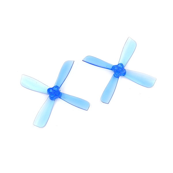 Racerstar 2435 PRO 2.4inch PC 4-blade Propeller 1.5mm Mounting Hole for FPV Racing Frame