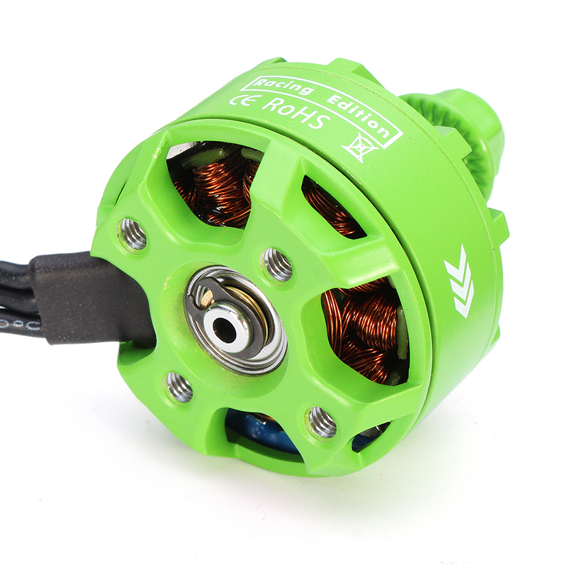 Racerstar 2307 BR2307S Green Edition 2200KV 2-5S Brushless Motor For X220 250 280 300 Racing Drone