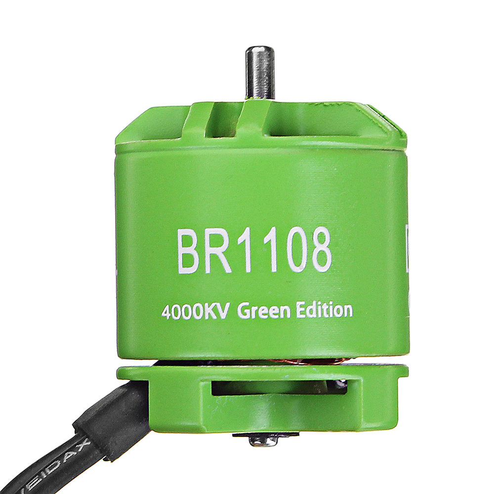 Racerstar 1108 BR1108 Green Edition 4000KV 6800KV Brushless Motor For RC Drone