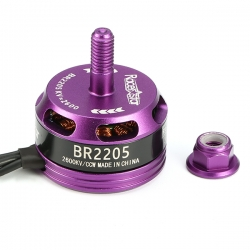 Racerstar Racing Edition 2205 BR2205 2600KV 2-4S Brushless Motor Purple CW/CCW For 220 250 280 RC Drone FPV Racing
